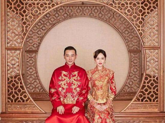 盘点明星结婚时的中式礼服 唐嫣罗晋气质高贵