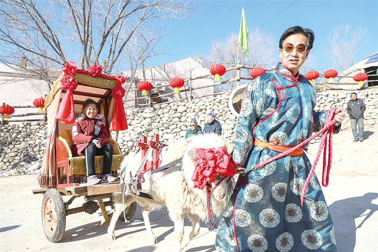 首届非遗中国年活动亮相莫尼山 年味十足游客称赞