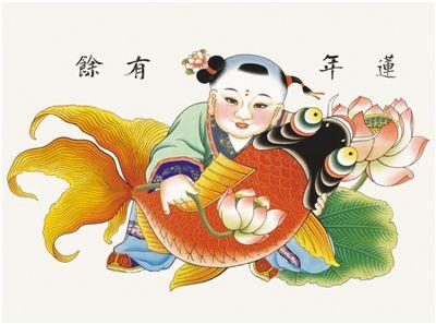 多彩年画 扮靓春节