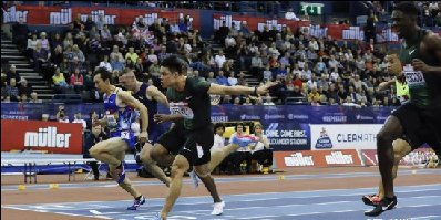 苏炳添获伯明翰室内大奖赛男子60米冠军