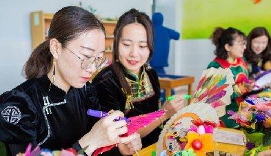 弘扬传统文化 展示巾帼风采