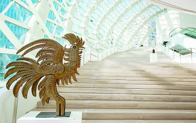 韩美林81件代表性雕塑亮相