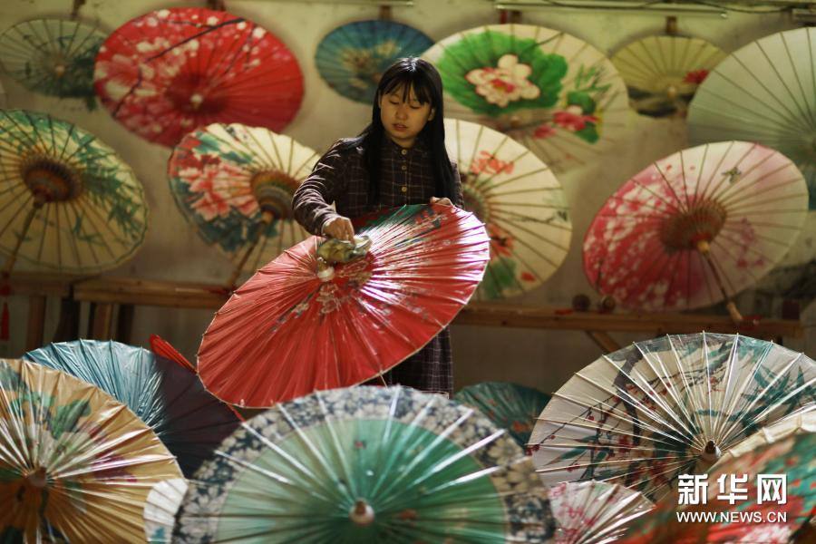 百年油纸伞焕发生机