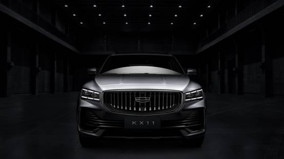 汲取CMA超级母体架构精髓  吉利全新SUV车型KX11官图曝
